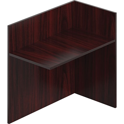 Offices To Go™ Furniture Collection in American Mahogany, Reception Return