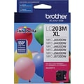Brother Toner Cartridge; Magenta, High Yield (LC203MS)