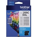 Brother Ink Cartridge; Cyan, Super High Yield (LC205C)