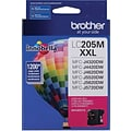 Brother LC205 Magenta Ink Cartridge (LC205M); Super High Yield