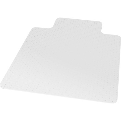 ES Robbins® Natural Origins™ 45 x 53 Rectangle Carpet Chairmat with Lip