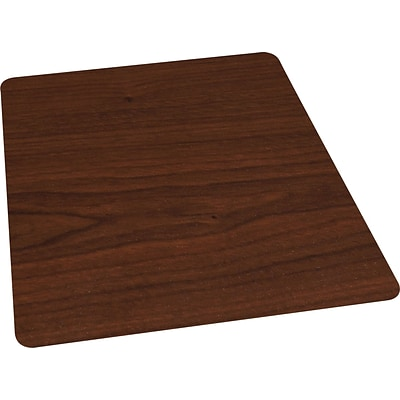 Quill Brand 174 Cherry Laminate Chairmat For Hard Floors