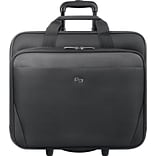 Solo Classic Rolling Laptop Case, Black (CLS910-4)