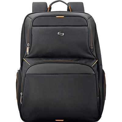 Solo Urban Backpack For 17.3 Notebook, Black/Orange
