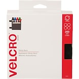 Velcro® 3/4 Dots Combo Pack Velcro Tape, Black, 200/Case