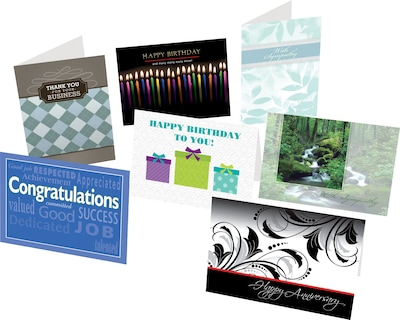 Holiday Expressions® Greeting Card Assortment Pack; All Occasion, Personalized