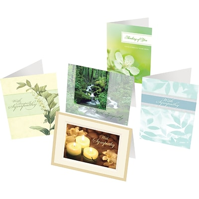 Holiday Expressions® Greeting Card Assortment Pack; Sympathy, Non-Personalized
