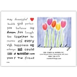 Medical Arts Press® Poetry Magnet; Tulips, Tranquility