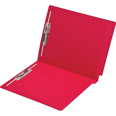 Medical Arts Press® Colored End-Tab File Folders; 11 pt., 2 Fasteners, 250/Box