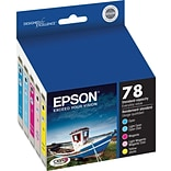 EPSON® 78 T078920 Claria Hi-Definition Ink Cartridges; Color Multi-pack (5 cart per pack)