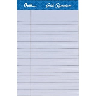 Quill Brand® Premium Jr Orchid Ruled Pad 5x8