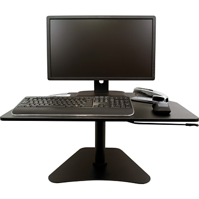 Victor® Wooden Standing Desk Converter, DC200 High Rise