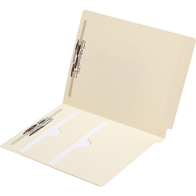 Medical Arts Press® End-Tab Folders with Twin Pockets; 11 Point, Fasteners, 50/Box