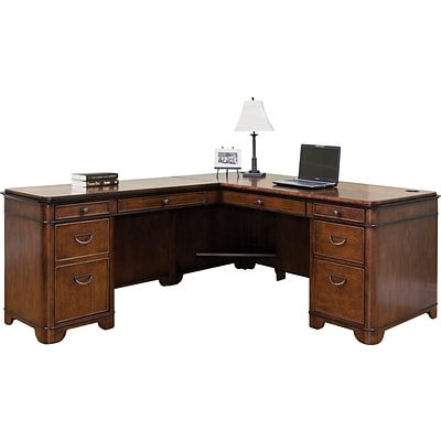 Martin Furniture Kensington Office Collection; Desk for LHF Keyboard Return