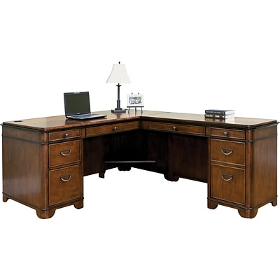 Martin Furniture Kensington Office Collection; RHF Keyboard Return