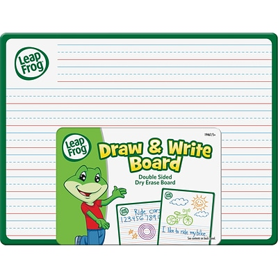 Leap Frog Double Side Draw & Whiteboard, 12 Width x 9 Height, 24/Bx