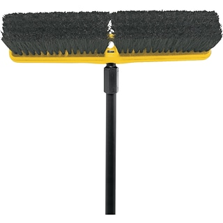Rubbermaid® Blk Medium Tampico Floor Sweep