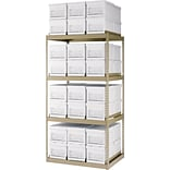Edsal 84x42x30 48-Box Capacity Storage Rack