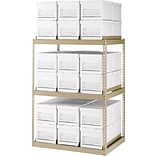 Edsal 60x42x30 36-Box Capacity Storage Rack
