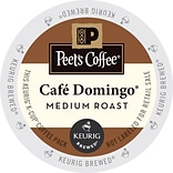 Keurig K-Cup Peets Cafe Domingo Coffee, Re...