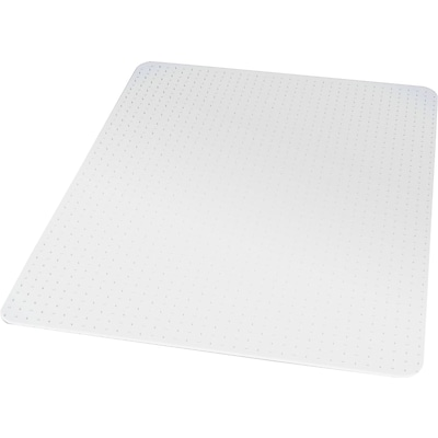 Quill Brand® 45x53 Low Pile Chair Mat, No Lip (27014-US/CC)