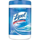 Lysol 110Ct. Ocean Fresh Disinfecting Wipes