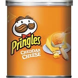Pringles® Cheddar Cheese Potato Chips, 1.41 oz Cans, 36/Box (KEE84716)