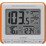 La Crosse Technology Wireless Digital Temperature Station with Trends and Alerts, Orange (308-179OR)