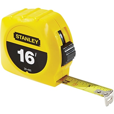 Stanley® Tape Rules, 3/4 x 16ft Blade