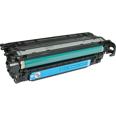 Quill Brand® HP 507 Remanufactured Cyan Laser Toner Cartridge, Standard Yield (CE401A) (Lifetime Warranty)