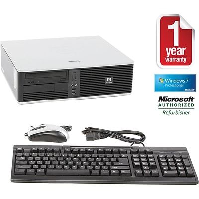 HP Refurbished DC5850 Small Desktop PC with 1-Year Warranty