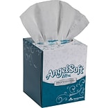 Angle Soft Ultra Pro Facial Tissue Cube Box