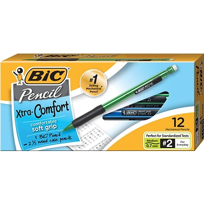 BIC Matic Grip® Mechanical Pencils .7mm, Dozen