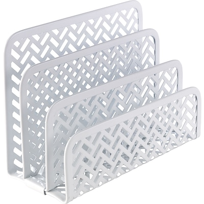 Quill Brand® White Zigzag Letter Sorter (26844)