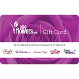 1800 Flowers Gift Card $100