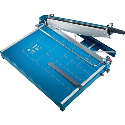 Dahle Premium Guillotine Paper Trimmer, 21.6, Blue (567)