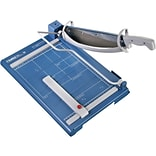 Dahle Premium Guillotine Paper Trimmer with Laser Guide , 14.2, Blue (564)