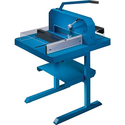 Dahle Professional Stack Cutter, 700 sheet capacity, Blue (848)