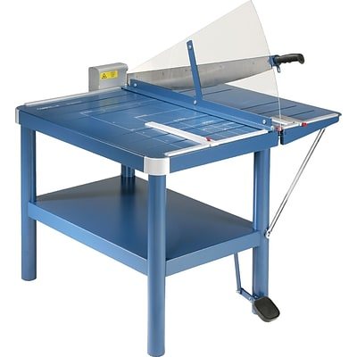 Dahle Large Format Premium Guillotine Paper Trimmer, 32, Blue (580)