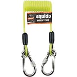 Ergodyne Squids, 2 Lbs Coiled Cable Lanyard