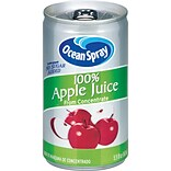 Ocean Spray 100% Apple Juice, 48 count