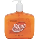 Dial Liquid Hand Soap, 16 oz. Pump Bottle, Each (DIA80790)