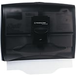 Kimberly-Clark® In-Sight Personal Seats Toilet Seat Cover Dispenser, Smoke/Gray
