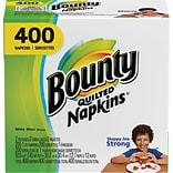 Bounty® Quilted Napkins, 1-Ply, 400/Pack
