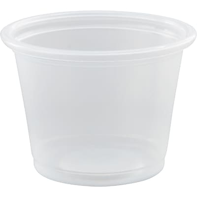 Dart® Conex Complements® Portion Containers 1 oz., Translucent, 2500/Carton (100PC)