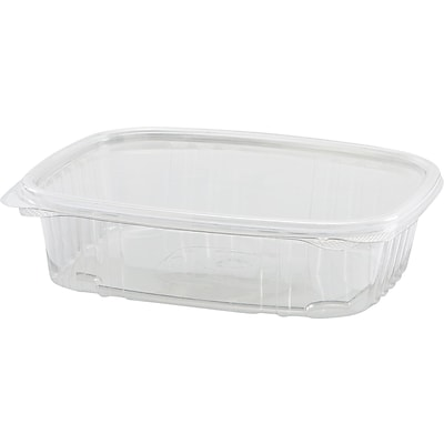 DELItainer® YSD2532 Food Container, Clear, 32 oz., 240/Pack