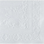 Hoffmaster® Placemats, Classic Embossed Straight Edge, White, 10Wx14L, 1000/Pack