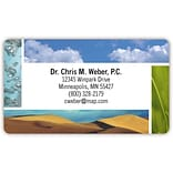 Medical Arts Press® Generic Business Card Magnets; Sky and Sand
