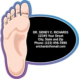 Medical Arts Press® Podiatry Die-Cut Magnets; 3x3, Large Foot