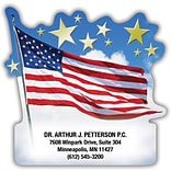 Medical Arts Press® Die-Cut Stickies™; American Flag